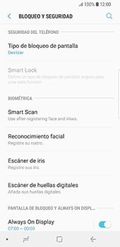 Desbloqueo del equipo por medio del patrón - Samsung Galaxy S9 - Passo 5
