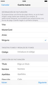 Crea una cuenta - Apple iPhone 6 Plus - Passo 19