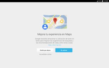 Uso de la navegación GPS - Samsung Galaxy Note Pro - Passo 5