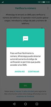 Configuración de Whatsapp - Huawei P20 - Passo 10