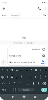Envía fotos, videos y audio por mensaje de texto - Motorola Moto G7 Plus - Passo 9