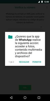 Configuración de Whatsapp - Motorola Moto E5 - Passo 6