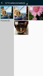 Envía fotos, videos y audio por mensaje de texto - Samsung Galaxy A5 - A500M - Passo 20