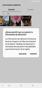 Envía fotos, videos y audio por mensaje de texto - Samsung A7 2018 - Passo 15