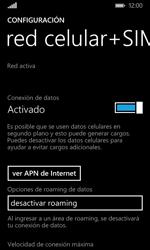 Desactiva tu conexión de datos - Microsoft Lumia 532 - Passo 4