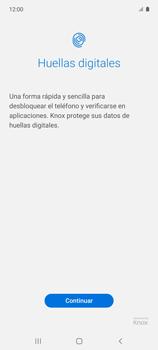 Habilitar seguridad de huella digital - Samsung Galaxy A51 - Passo 5