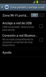 Configura el hotspot móvil - Samsung Galaxy Win - I8550 - Passo 6