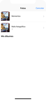 Envía fotos, videos y audio por mensaje de texto - Apple iPhone X - Passo 11