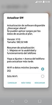 Actualiza el software del equipo - LG Q6 - Passo 11
