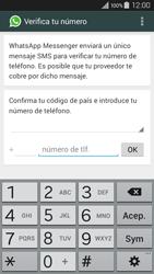 Configuración de Whatsapp - Samsung Galaxy A3 - A300M - Passo 5