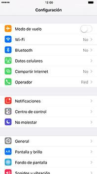 Restaura la configuración de fábrica - Apple iPhone 7 Plus - Passo 3