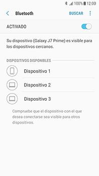 Conecta con otro dispositivo Bluetooth - Samsung Galaxy J7 Prime - Passo 7