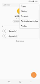 ¿Tu equipo puede copiar contactos a la SIM card? - Samsung Galaxy S8+ - Passo 6