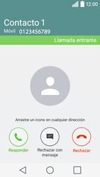 Contesta, rechaza o silencia una llamada - LG C50 - Passo 5