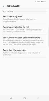 Restaura la configuración de fábrica - Samsung Galaxy S8+ - Passo 6