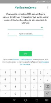 Configuración de Whatsapp - Huawei Y7 (2018) - Passo 8