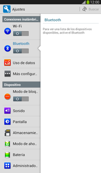 Conecta con otro dispositivo Bluetooth - Samsung Galaxy Tab 3 7.0 - Passo 5
