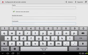 Configura tu correo electrónico - Samsung Galaxy Note 10-1 - N8000 - Passo 16