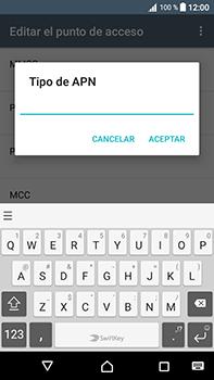 Configura el Internet - Sony Xperia L1 - Passo 14