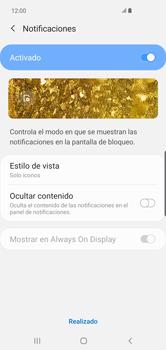 Activa o desactiva el uso del código de seguridad - Samsung S10+ - Passo 10