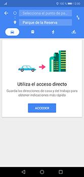 Uso de la navegación GPS - Huawei P20 Lite - Passo 10