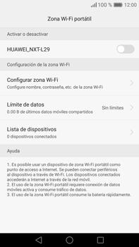 Configura el hotspot móvil - Huawei Mate 8 - Passo 6