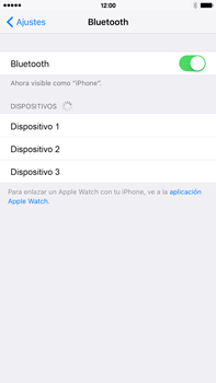 Conecta con otro dispositivo Bluetooth - Apple iPhone 6s Plus - Passo 5