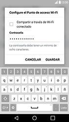 Configura el hotspot móvil - LG G5 - Passo 7