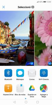 Transferir fotos vía Bluetooth - Huawei Y7 (2018) - Passo 9