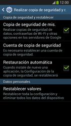 Restaura la configuración de fábrica - Samsung Galaxy Zoom S4 - C105 - Passo 6
