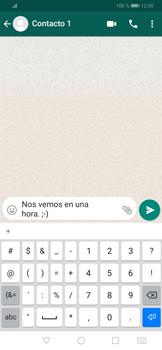 Usar WhatsApp - Huawei P30 - Passo 6