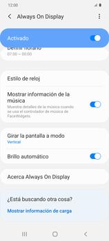 Cómo activar Always on Display - Samsung Galaxy S20 - Passo 14