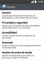 Configura el Internet - LG L70 - Passo 23