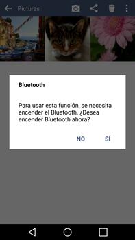 Transferir fotos vía Bluetooth - LG G4 - Passo 9