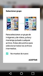 Transferir fotos vía Bluetooth - LG X Power - Passo 5