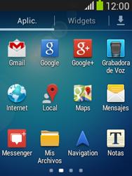 Envía fotos, videos y audio por mensaje de texto - Samsung Galaxy Pocket Neo - S5310L - Passo 2