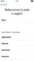 Activa el equipo - Apple iPhone 5s - Passo 4