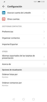 ¿Tu equipo puede copiar contactos a la SIM card? - Huawei P30 - Passo 7