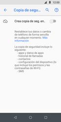 Realiza una copia de seguridad con tu cuenta - Motorola Moto E5 Play - Passo 6