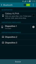 Conecta con otro dispositivo Bluetooth - Samsung Galaxy Alpha - G850 - Passo 8