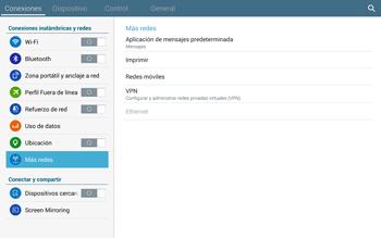 Configura el Internet - Samsung Galaxy Note Pro - Passo 5