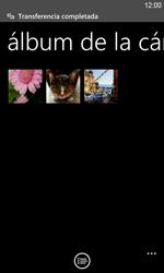Transferir fotos vía Bluetooth - Nokia Lumia 820 - Passo 13