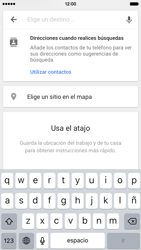 Uso de la navegación GPS - Apple iPhone 6s - Passo 16