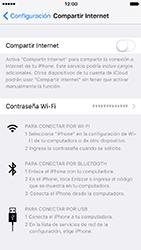 Configura el hotspot móvil - Apple iPhone 7 - Passo 4