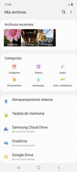 Transferir datos desde tu dispositivo a la tarjeta SD - Samsung Galaxy A51 - Passo 4