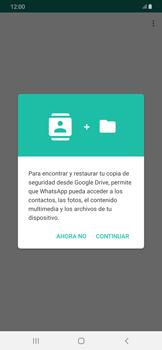 Configuración de Whatsapp - Samsung Galaxy A50 - Passo 7