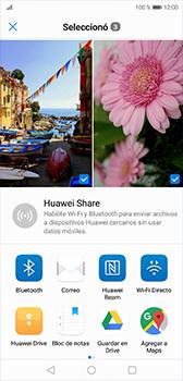 Transferir fotos vía Bluetooth - Huawei P20 - Passo 9