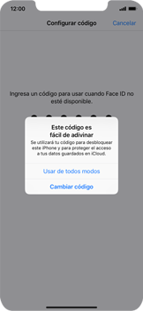 Cómo configurar el Face ID - Apple iPhone XR - Passo 11