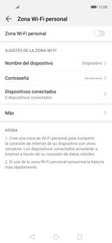 Configura el hotspot móvil - Huawei Nova 5T - Passo 7
