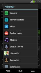 Envía fotos, videos y audio por mensaje de texto - LG G Flex - Passo 13